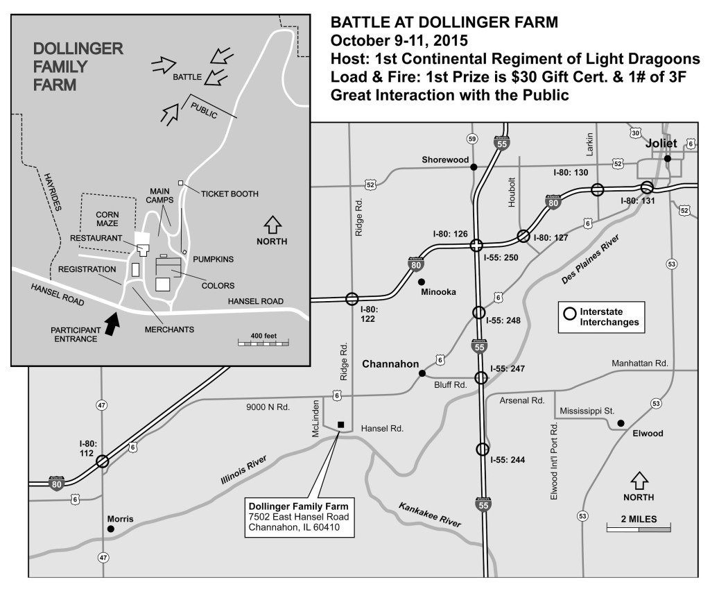 Dollinger Farm Map